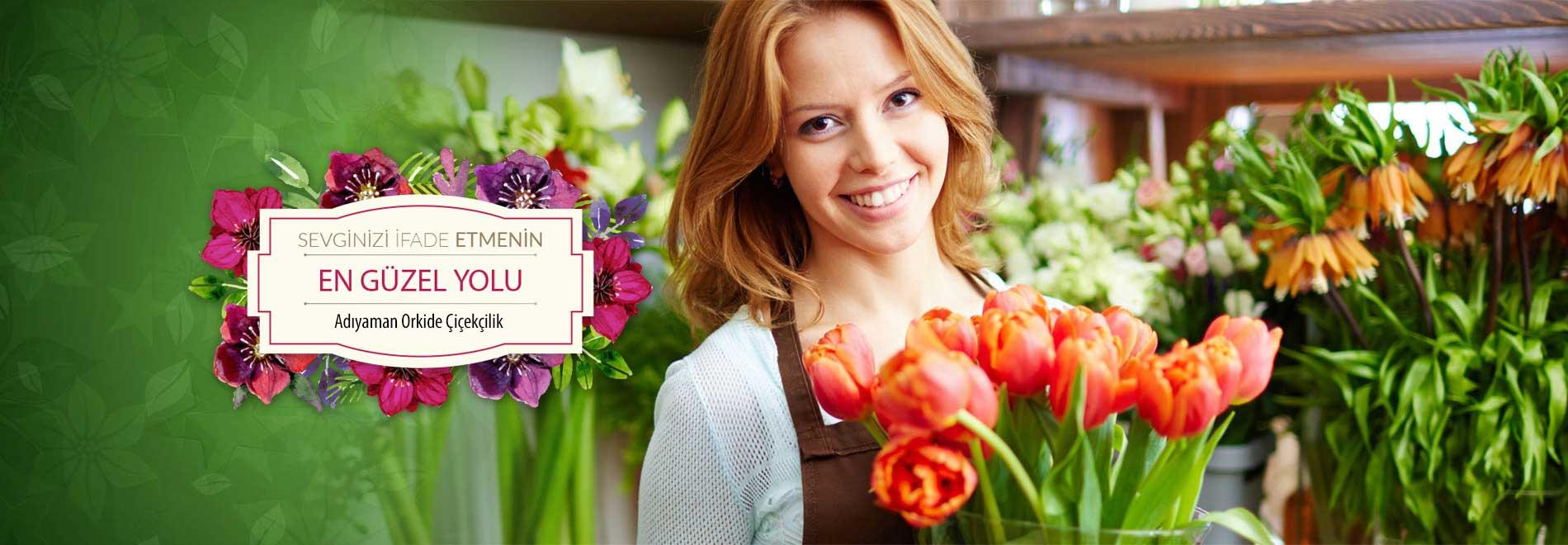 Adıyamanda çiçek Orkide çiçekçilik Organizasyon